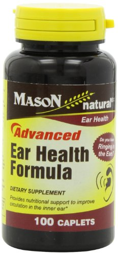 Mason Vitamins New Advance Ear Health Formula Caplets, 100-Count Bottle