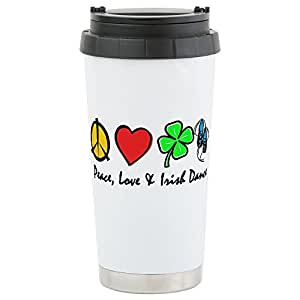 CafePress - Stainless Steel Travel Mug - Stainless Steel Travel Mug, Insulated 16 oz. Coffee Tumbler