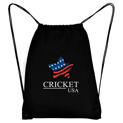 Teeburon Cricket USA Star Sport Bag by Teeburon
