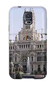 Valerie Lyn Miller Galaxy S5 Hybrid Tpu Case Cover Silicon Bumper Madrid City