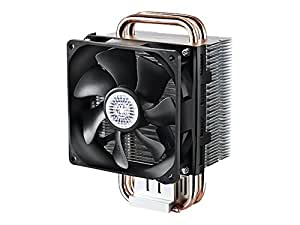 Cooler Master Hyper T2 - Compact CPU Cooler with Dual Looped Direct Contact Heatpipes, Intel/AMD with AM4 Support