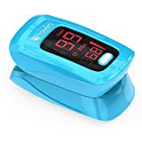 Health & Personal Care : iProven Pulse Oximeter Fingertip - Blood Oxygen (O2) Saturation Level Monitor - with Heart Rate Detection - Oximetro De Pulso - Finger Oximeter with Pulse Indicator - Best Accuracy by OXI-27 Blue