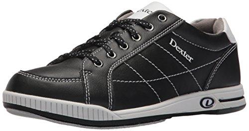 Dexter Women's Deanna Plus Bowling Shoes, Black/White, Size 8.0