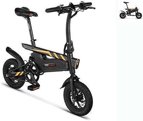 Bicicleta Eléctrica Plegable DR 15.74 Pulgadas Bicicleta De Montaña Eléctrica con Batería De Iones De Litio Desmontable (36V 250W) Marco De Aluminio, Tres Modos De Trabajo: Amazon.es: Hogar