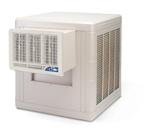 Phoenix Manufacturing BW5002 Evaporative Window Cooling Unit with 1,800 Square Feet Cooling (Square Foot Cooling)