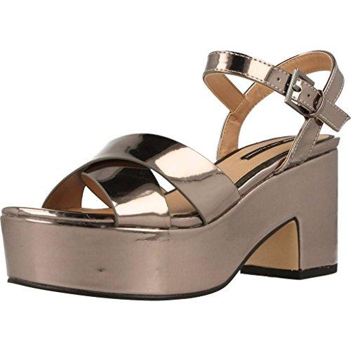 Sandalias y chanclas para mujer, color Met�lico , marca MTNG, modelo Sandalias Y Chanclas Para Mujer MTNG 3423 R3 Met�lico Met�lico