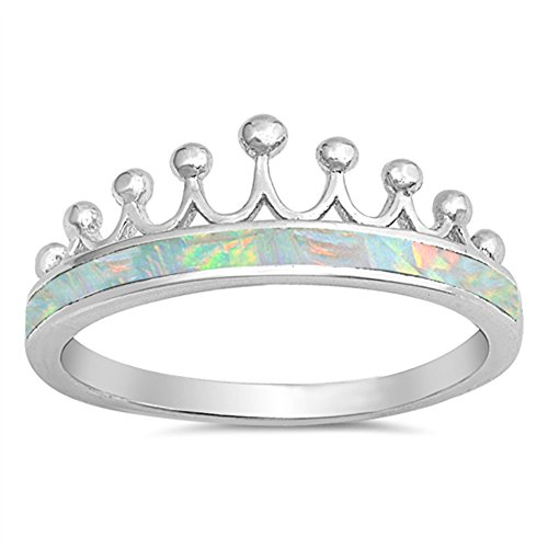 Brand-new Opal Crown Ring: Amazon.com AF62