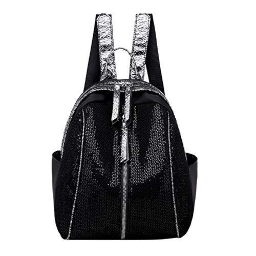 - LUXISDE Fashion Ladies Sequin Shoulder Bag Female Shoulder Diagonal Cross Bag Backpack