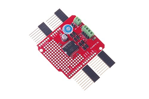 SMAKN® L298P High Current Dual Carriage Motor Driver Board Shield For Arduino New