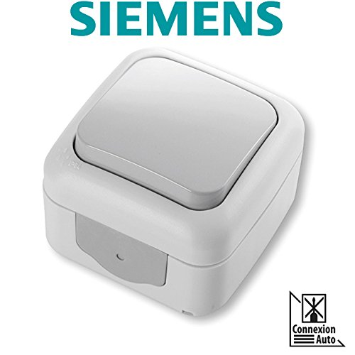 Interruptor Conmutador Estanco Gris SIEMENS Ingenuity for life