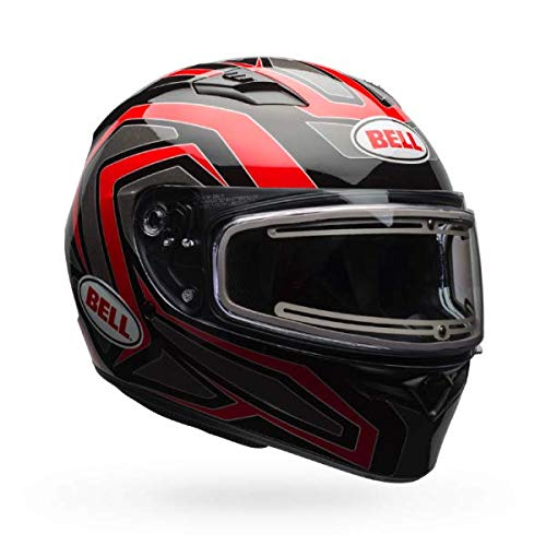 (Bell Qualifier Electric Shield Snow Helmet (Reflective Red, X-Large))