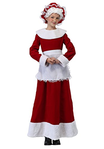 Girls Mrs. Claus Costume -