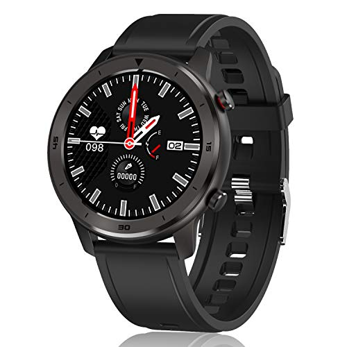 Smart Watch, Popglory Smartwatch HR, Touchscreen 1.3