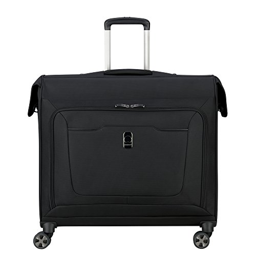DELSEY Paris Hyperglide Spinner Garment Bag Suit or Dress, Black