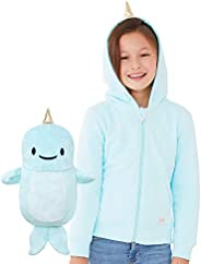 Cubcoats Kids Transforming 2 in 1 Hoodie and Soft Character Plushie