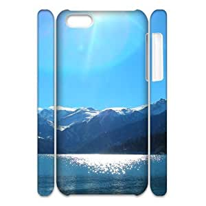 LINMM58281iphone 5/5s Case 3D, Lake On The Snow Mountains Case for iphone 5/5s white lmiphone 5/5s172448MEIMEI