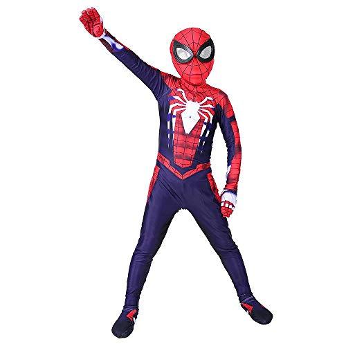 Traje De Cosplay De Spiderman Para Niños PS4 Traje De ...