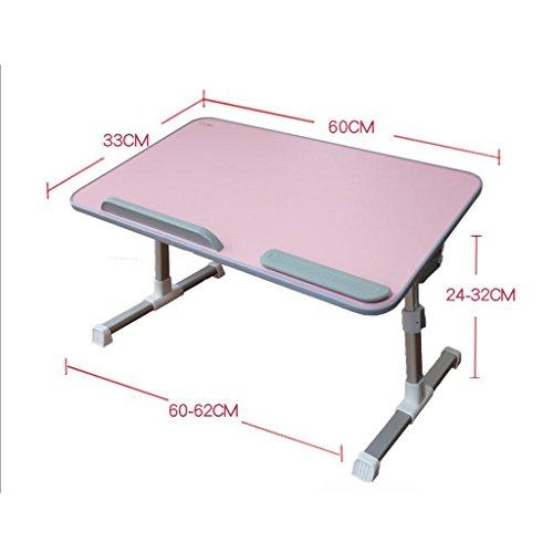GFL Table Desks Laptop Desk Student Dormitory Multifunctional Folding Small Tables Computer Tables (Color : B) by GFL