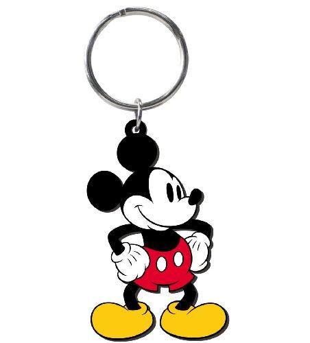 Disney Retro Mickey Soft Touch PVC Key Ring