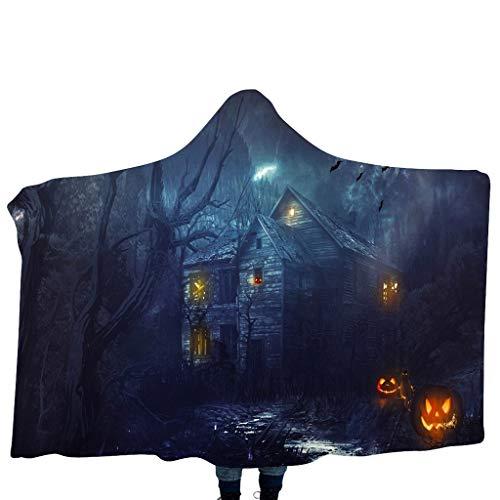 Sandra Dee Halloween Costumes - KLFGJ Halloween Children's Blanket Hooded Shawl