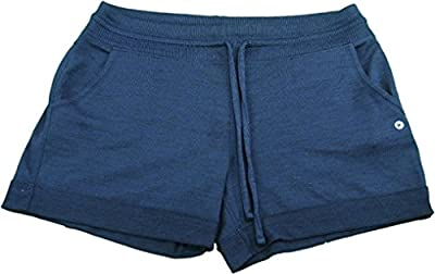 Active Life Ladies Size Small High Performance Wicking Shorts, Navy/Heather Navy