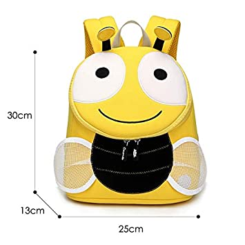 Best Quality - Neoprene School Backpack - Hedgehog School Bags for Kids Boys Lovely Animals Design