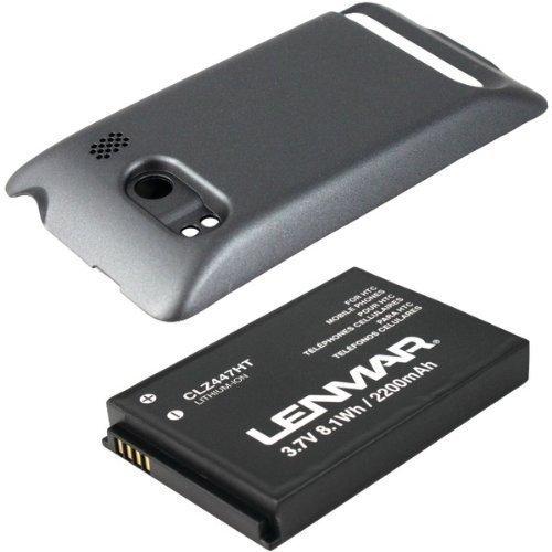 LENMAR Extended Battery for HTC Evo 4G - Retail Packaging - Black