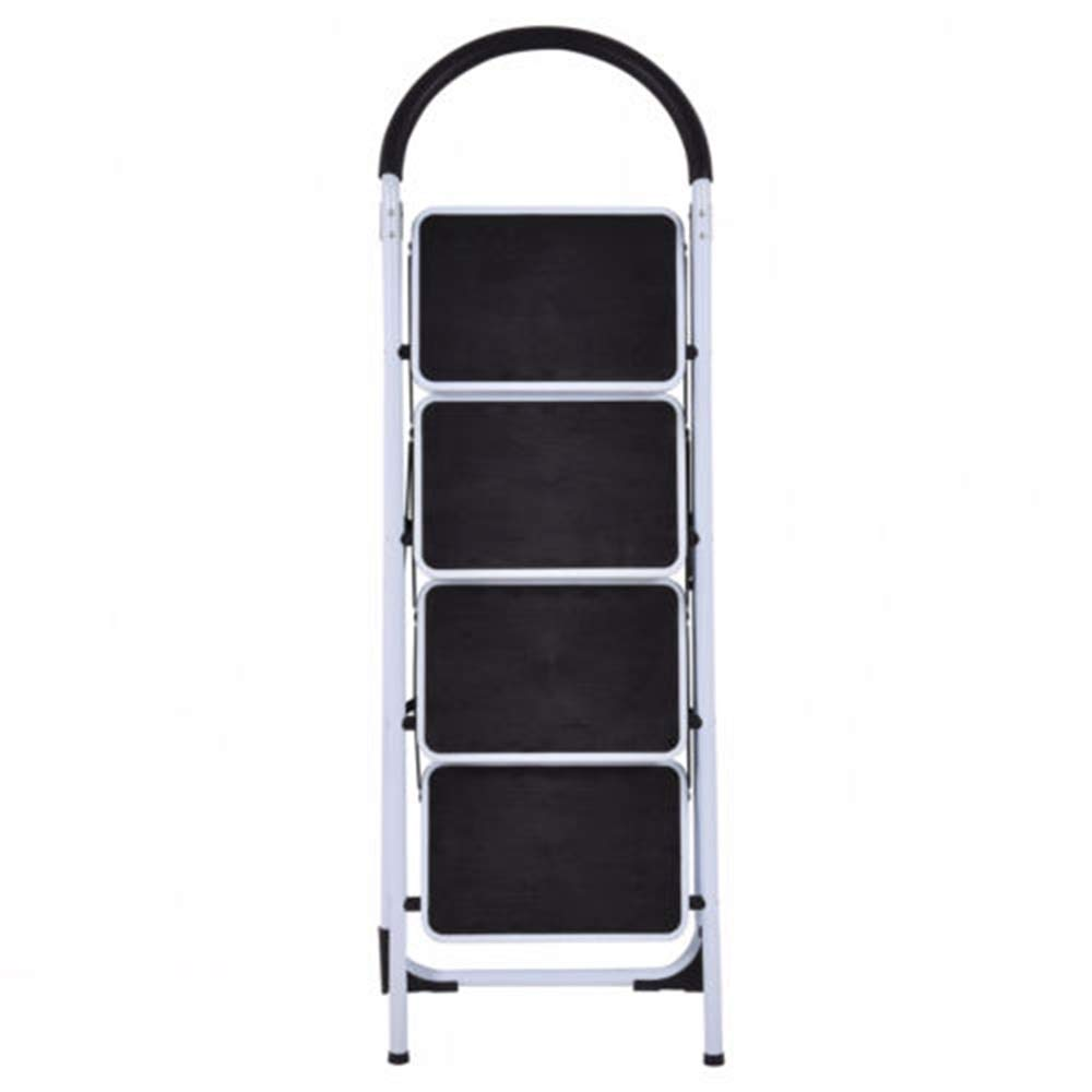 MY HOPE Ladder Fordable Heavy Duty Supported load 330 Lbs 4 Step Industrial Lightweight. by MY HOPE (Image #6)