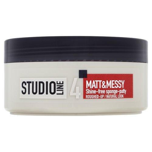 L'Oreal Studio Line Matt by Paris Messy Shine-Free Sponge Putty 150ml L' Oreal Paris 3600522227410