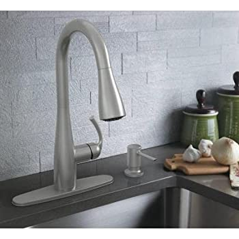 Essie Single Handle Pull Down Sprayer Kitchen Faucet In