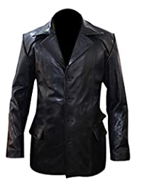 The Sparks Up Inc. Rocky 2 Sylvester Stallone Classic Real Leather Blazer Jacket
