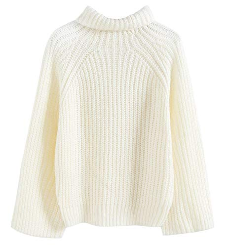 Femme BOLAWOO Col Manches Longues El Large Pull Haut 6qfxwfSH