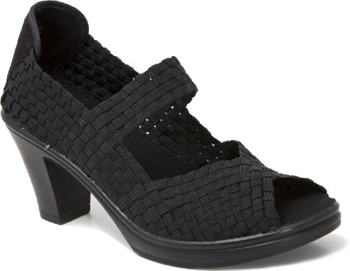 Bernie Mev Womens Clyde Casual Shoes With Heel Black 0npTPBB