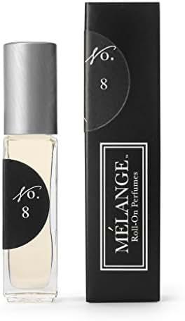 Melange Amber, Vanilla & Plum Roll On Perfume .25 ounces