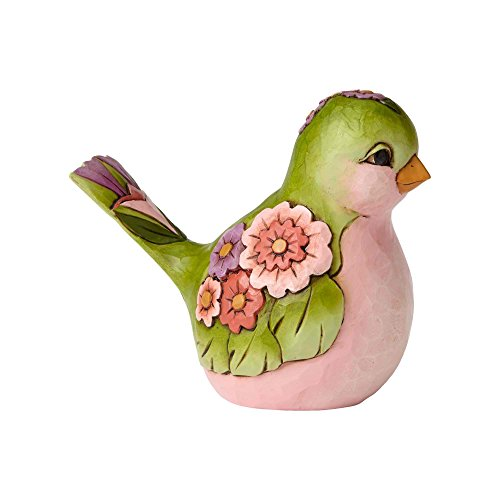 Jim Shore Spring - Jim Shore HWC Bright and Beautiful Green Floral Bird Figurine 4056960 Animal New