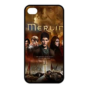 Merlin - Personalized TV Design TPU Case Protector Skin For Iphone 4 4s iphone4s-90656