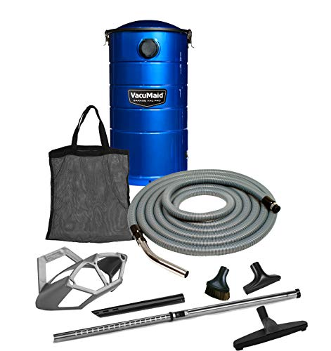 VacuMaid GV50BPRO Professional Wall Mounted Garage and Car Vacuum with 50 ft. Hose and ()
