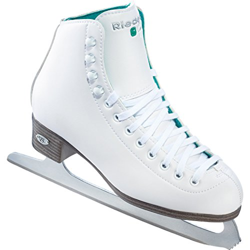 Riedell 110 Opal / Womens Beginnner Figure Ice Skates / Color: White / Size: 10