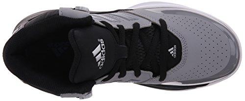 adidas Outrival 2K Zapatilla De Baloncesto (poco Kid/Big Kid) Light Grey/Silver/Black