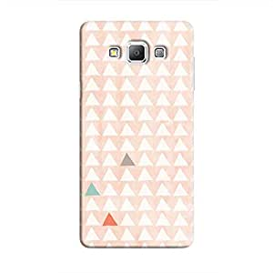 Cover It Up - Odd Hills Pink Galaxy A7 Hard Case