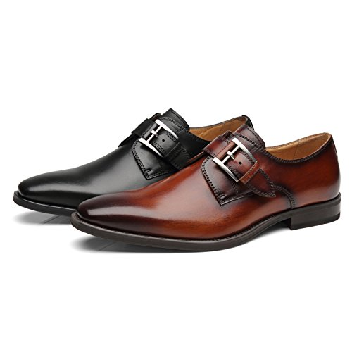 Casual On Business black Comfortable Leather Loafers Classic 1 Will Men Shoes Men's Dress La Milano Slip wxYqX0tp