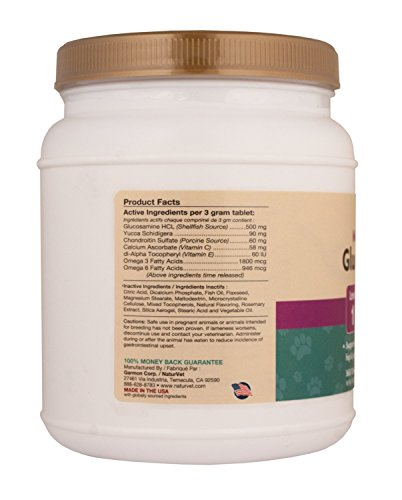 Picture of Naturvet 360 Count Glucosamine- Ds (Double Strength) - Dog Health Care, Joint and Hip
