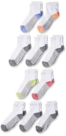 Fruit of the Loom Big Boys' 10 Pack Ankle Socks