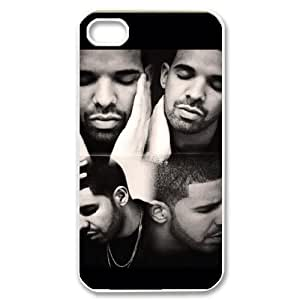 C-EUR Customized Print Drake Pattern Back Case for iPhone 4/4S by runtopwell