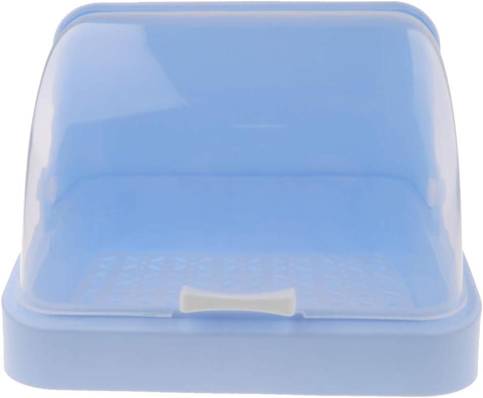 Babyflasche Aufbewahrungsbox Flasche Trockengestell Flaschen Organizer Blau