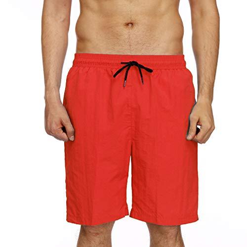 Casual Punti Pantaloni Impermeabili A Yuch Spiaggia Uomo Red 5 Da Pantaloncini w8xf1U1qX