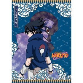 Naruto: Sasuke Fabric Wall Scroll