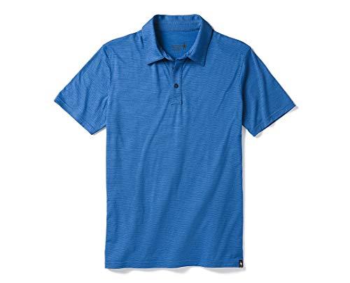 - SmartWool Men's Merino 150 Pattern Polo, Bright Cobalt, XXL