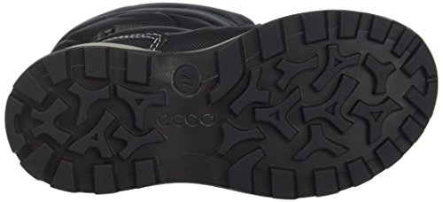 Ecco Unisex-Kinder Snow Mountain Stiefel Schwarz (Black/Titanium/Black)