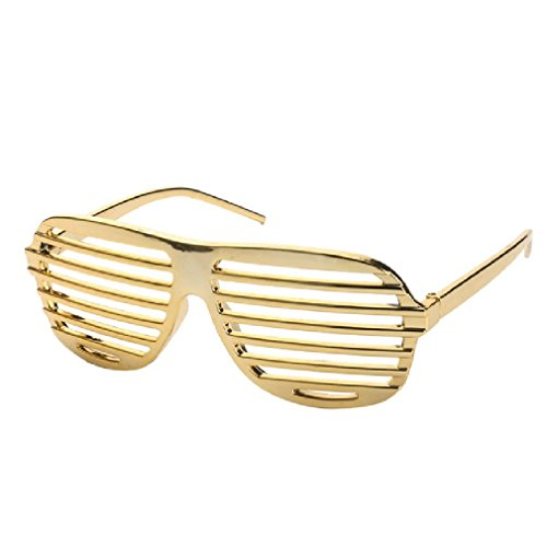 Shutter Shades Costume Glasses Party Mask Eyewear Props Decorative Event Festive (Queen Shutter)